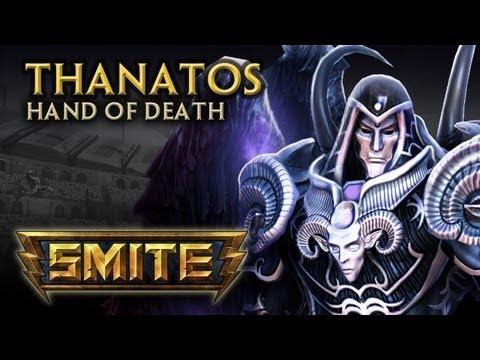 SMITE  God Reveal  Thanatos, Hand of Death