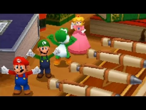 Mario Party DS - All 4-Player Minigames
