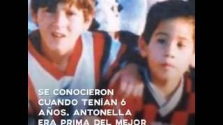 La historia de Amor de Lionel Messi y Antonella Roccuzzo