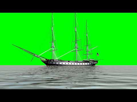 sailing ship USS