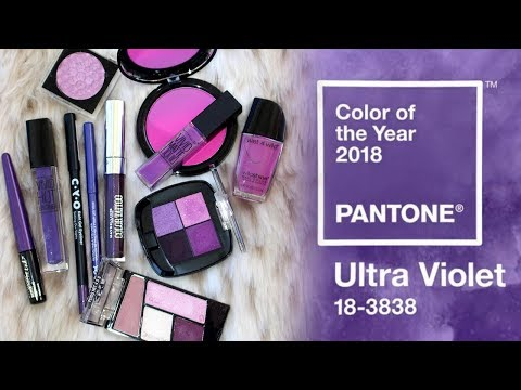 Best Drugstore PURPLE Makeup   Pantone Color of the Year 2018