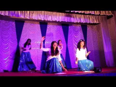 Mazhayilum vaililum Group Dance - St Joseph Church Thevara, Cultural's Jan 2018
