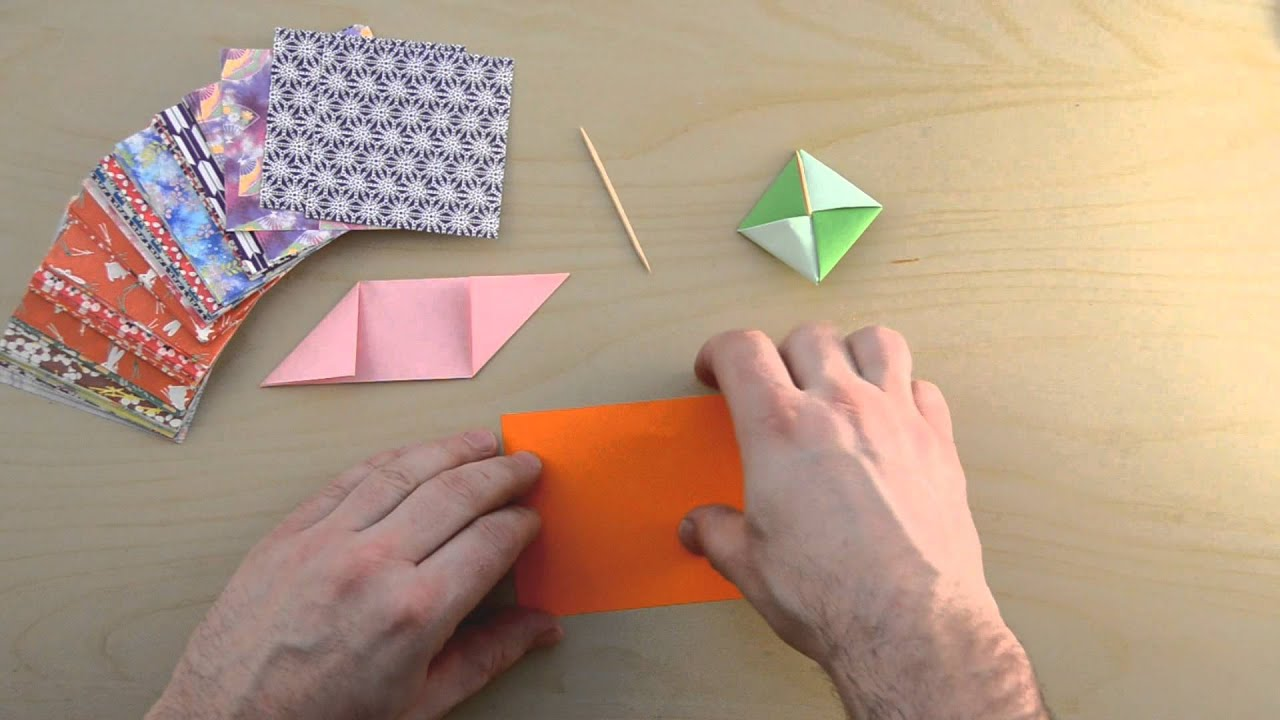 Origami Spinning Top - YouTube - photo#13