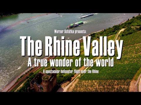The Rhine Valley - A true wonder of the world - bird´s eye view - spectacular DVD Trailer