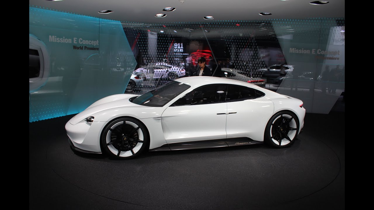 Porsche Concept Mission E 2015 Must See (Exterior Interior)   YouTube