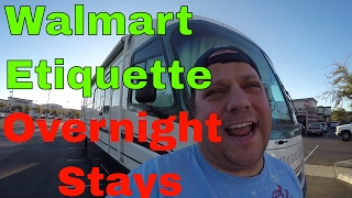 Update On AC Unit Troubles & Opinion On Walmart Overnight RV Camping Etiquette RV Living On The Road