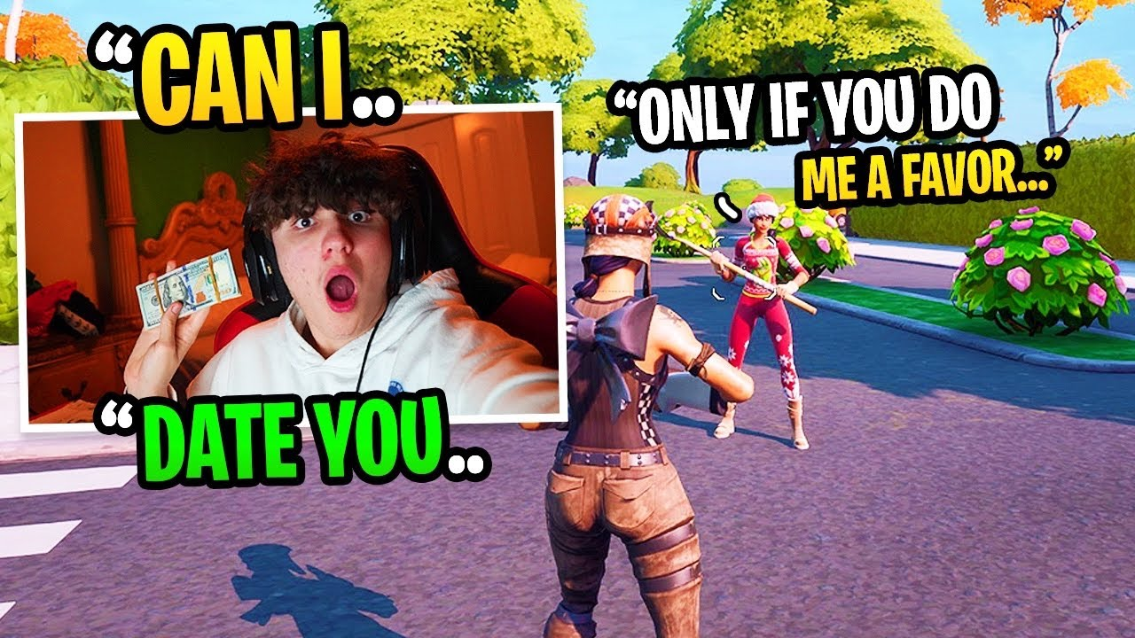 I Met A GIRL GAMER In DUOS FILL, Then This Happened... (Fortnite)