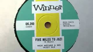 Five Miles to Jozi-Nick Moyake and his Jazzy Sax