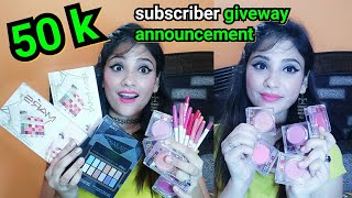 *50k giveway* announcement || My special day || 5Winners
