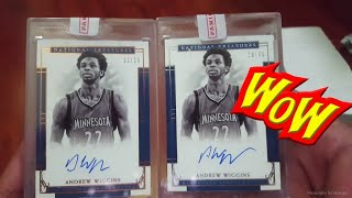 Panini Redemption Mailday - 2 separate boxes, similar item