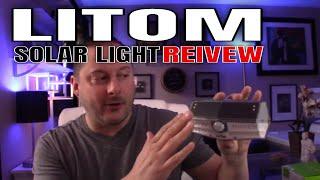 Smart Home Tech: Litom 30 LED Solar Motion Sensor Security Lights