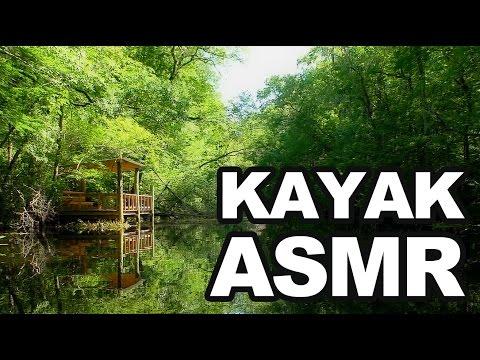 ASMR Kayak, Bird Chirping, Water Splash, Nature Sounds, Outdoor Binaural