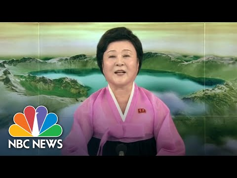 North Korean TV Hails President Donald Trump's Decision To A