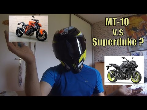 Le Canard fait Coin / Episode 4 : MT-10 vs SuperDuke 1290 R