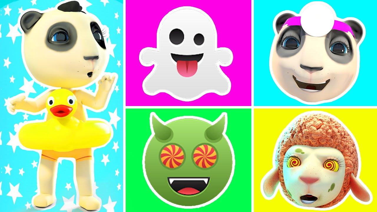 My Feelings Song! Nursery Rhymes, Kids Songs | Hot vs Cold Zombie Stories & Rainbow Pop it Challenge