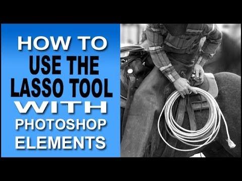 Photoshop Elements Lasso Tool Selection Secrets