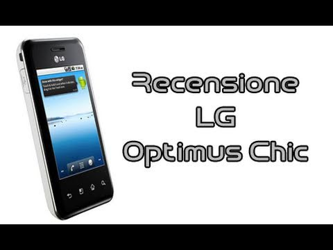 LG Optimus Chic, recensione in italiano by AndroidWorld.it