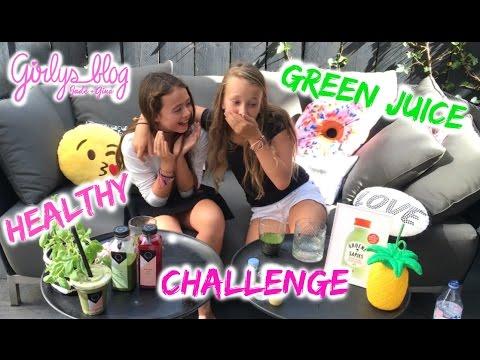 HEALTHY GREEN JUICE CHALLENGE! GIRLYS BLOG