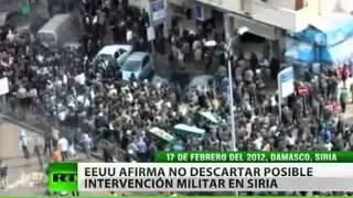 Siria en pleno caos y a punto de una intervención militar extranjera