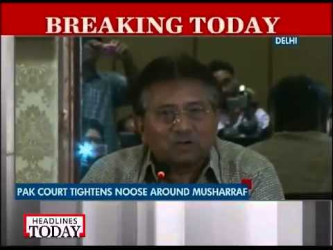 Musharraf banned from leaving Pakistan