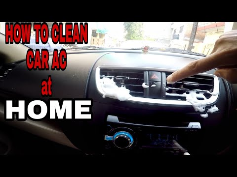 How to clean your CAR AC at Home easily
