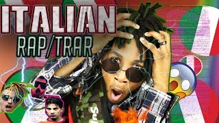🇮🇹-REACTING TO ITALIAN RAP/TRAP MUSIC HIP/HOP Junior Cally,Tedua ,Sfera Ebbasta,Dani Faiv
