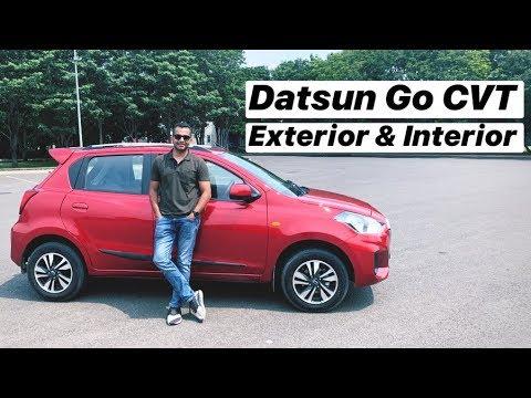 2019 Datsun Go CVT - Exterior & Interior Review (Hindi + English)