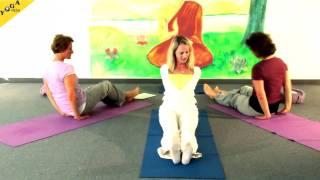 Hormonyoga Yogastunde mit Purnima