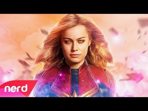 Captain Marvel Song  Born to Fly  NerdOut ft Halocene Un Soundtrack