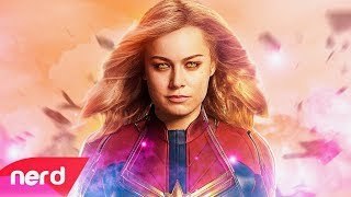 Captain Marvel Song | Born to Fly | #NerdOut ft. Halocene (Un Soundtrack)