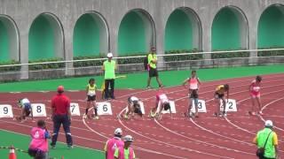 105年全國小學田徑錦標賽高雄市徐俐琳100決賽