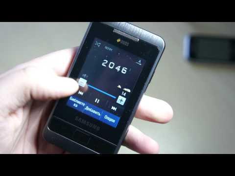 Видео Samsung C3332 Champ 2