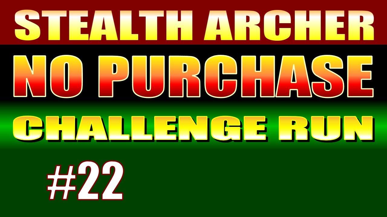 Skyrim Walkthrough NO GOLD CHALLENGE RUN #22 - How to Sneak