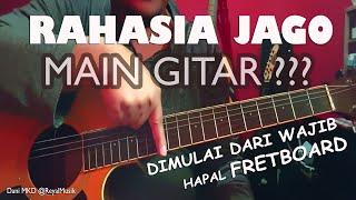 Belajar Gitar Wajib Hafal Nada Fretboard - Cara Mudah Cepat Menghafal Mengenal Nada Gitar