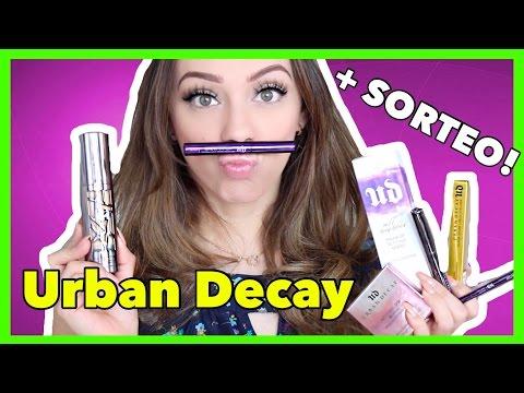 Pongamos a prueba la línea de URBAN DECAY + SORTEO!!!