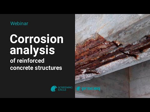 Proceq Webinar: Corrosion analysis of reinforced concrete st