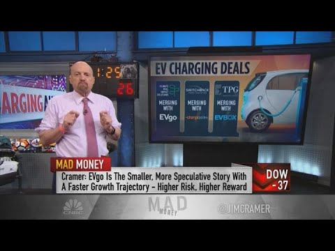 Why Jim Cramer likes EVBox best among recent SPAC deals for charging station companies