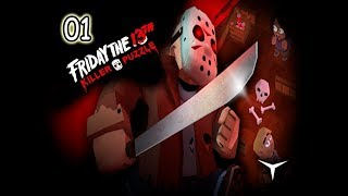 01.Rdos de Crystal Lake (Friday the 13th Killer Puzzle) // Gameplay Español