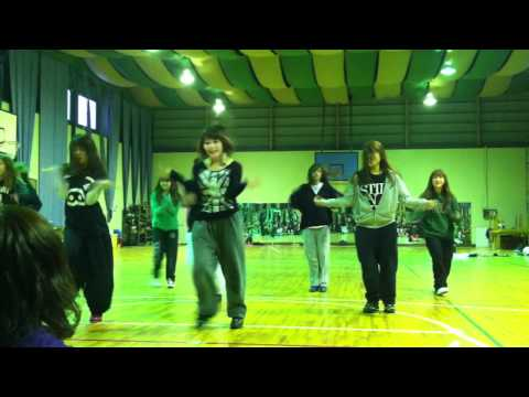 HSD GIRLS合宿