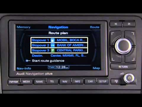 audi a3 tt r8 navigation system plus navigation youtube. Black Bedroom Furniture Sets. Home Design Ideas