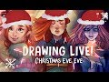 CHRISTMAS EVE EVE LIVESTREAM! w/ Canary Witch and Zoë Marriner