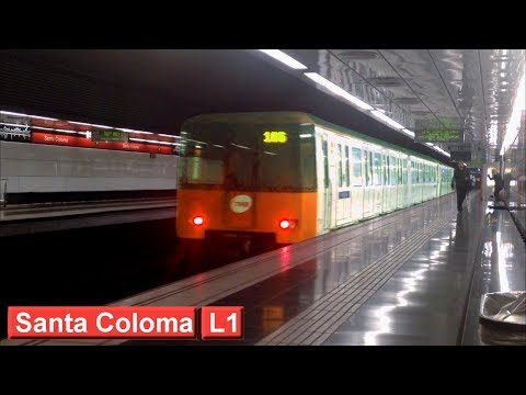 Metro de Barcelona : Santa Coloma L1 ( TMB 6000 - 4000 )