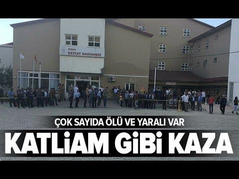 Bitlis'te Minibüs Devrildi: 10 ölü 7 Yaralı / A Haber
