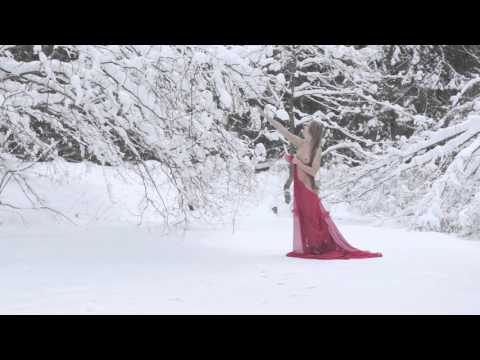 Snow Nudes. Girls Among Snowscapes. thumbnail