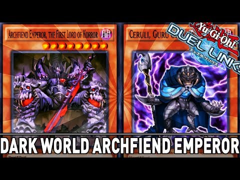 Dark World Archfiend Emperor! | YuGiOh Duel Links PVP Mobile & Steam w/ ShadyPenguinn