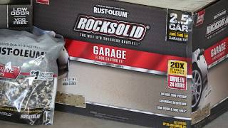 Rustoleum Rocksolid Garage * How to get the best results