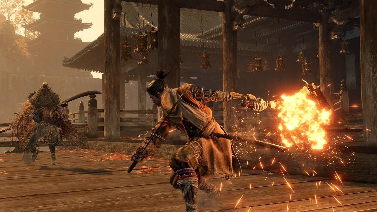 Sekiro: Shadows Die Twice трейлер игры
