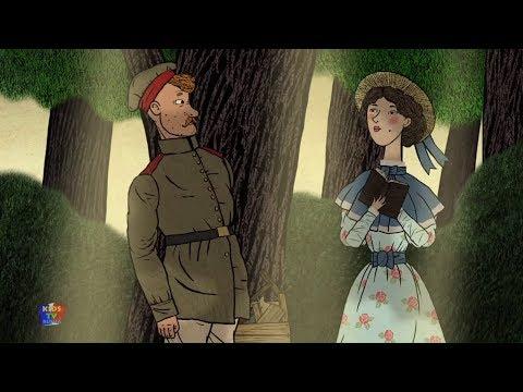 Солдат и птица | мультики для детей | Гора самоцветов | A Soldier and a Bird | Kids Tv Russia