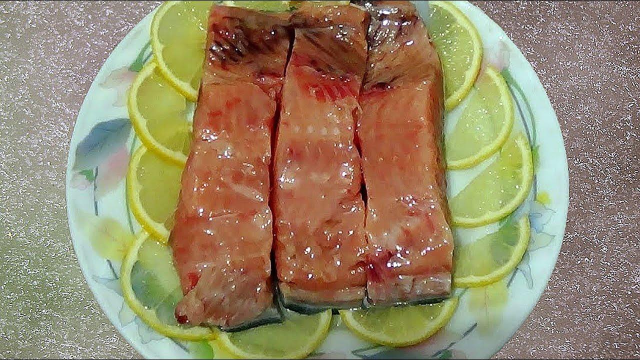 Вкусный рецепт для засолки горбуши