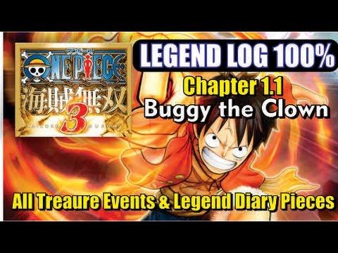 One Piece Pirate Warriors 3 - 100% Legend Log - Episode 1.1 Buggy the Clown